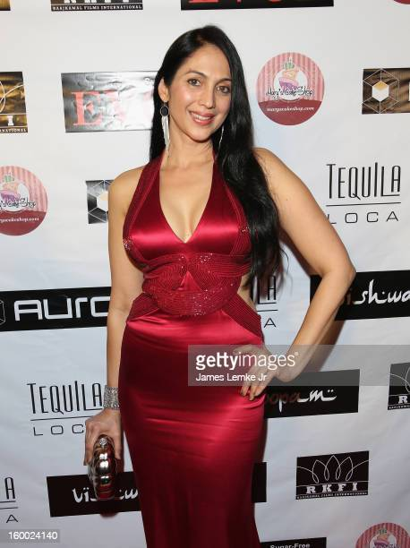 Kalpana Pandit attends the Vishwaroopam premiere held at the Pacific Theaters at the Grove on January 24 2013 in Los Angeles California