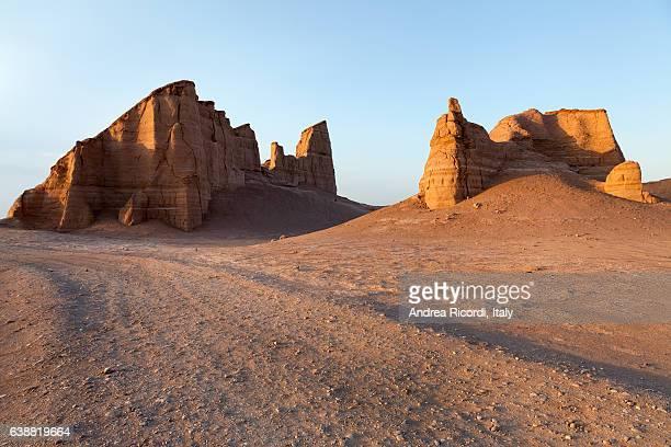 Kaluts desert, south eastern Iran