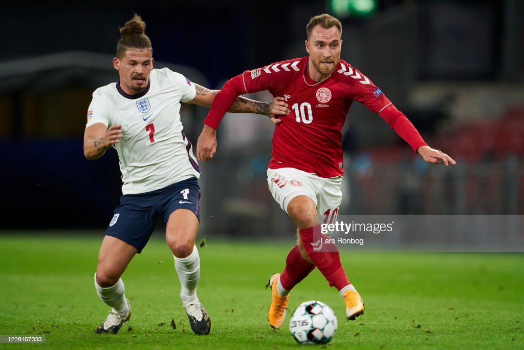 Denmark vs England - UEFA Nations League : News Photo