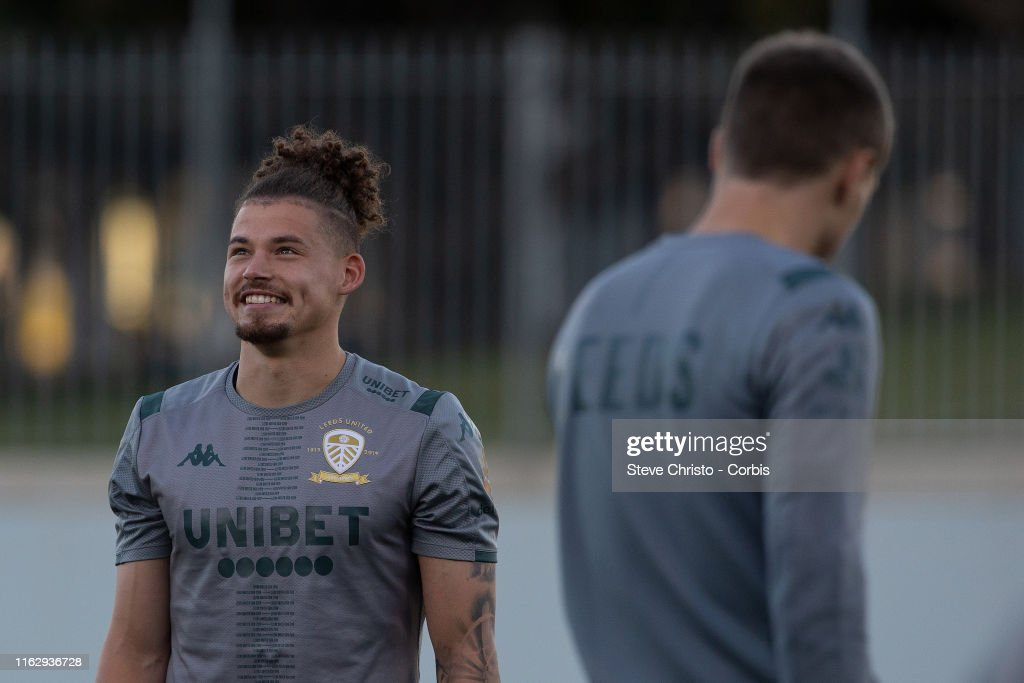 Leeds United Training Session : News Photo