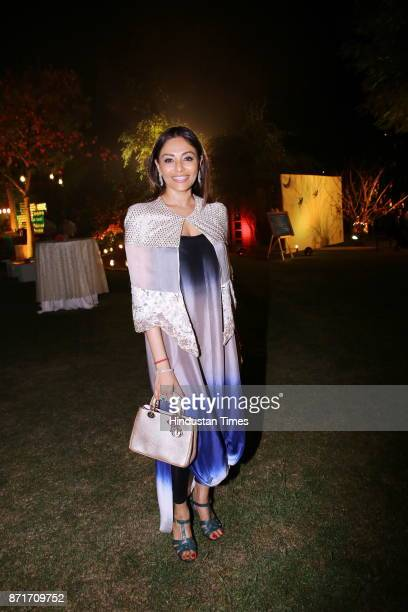 Kalyani Chawla during the fundraiser for Lepra India Trust at the residence of the British High Commissioner Sir Dominic Asquith at 2 Rajaji Marg on...