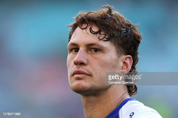 Kalyn Ponga of the Knights looks dejected after losing the NRL Elimination Final match between the South Sydney Rabbitohs and the Newcastle Knights...