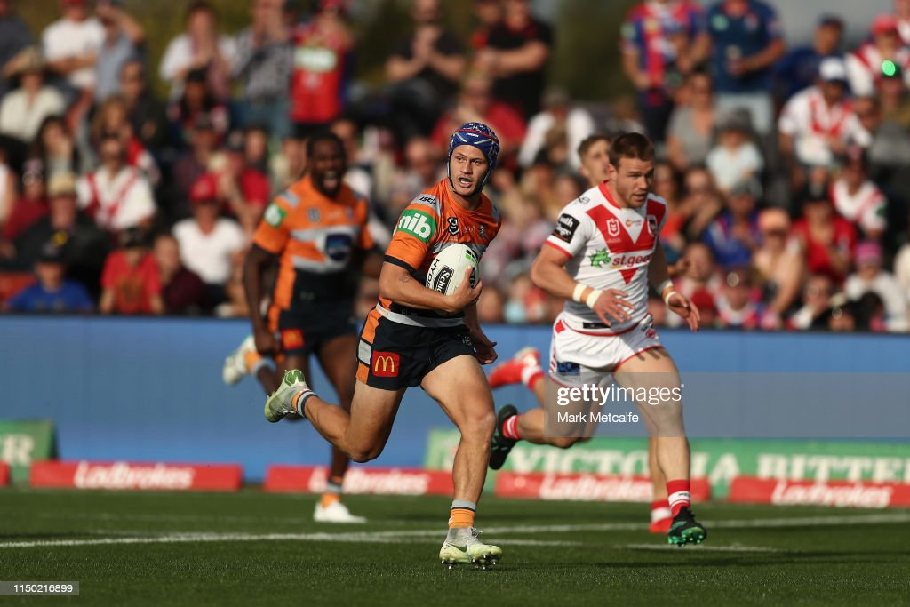 NRL Rd 10 - Dragons v Knights : News Photo