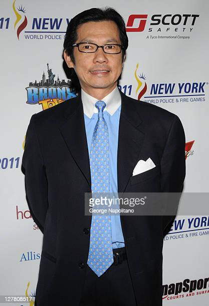 Kam Wong President and CEO Municipal Credit Union attends the 2011 World Police and Fire Games Benefit Gala dinner at Jacob Javits Center on March 23...