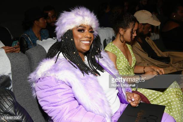 Kamaiyah attends Universal 'US' First Screening Los Angeles at Pacific Design Center on March 08 2019 in West Hollywood California