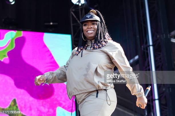 Kamaiyah performs at Rolling Loud festival at OaklandAlameda County Coliseum on September 28 2019 in Oakland California