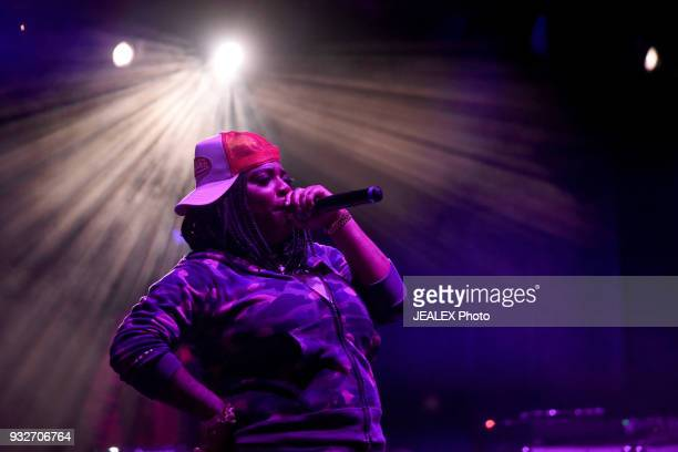 Kamaiyah performs onstage at ICM All Female Event during SXSW at The Belmont on March 15 2018 in Austin Texas