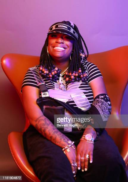 Kamaiyah poses for a portrait during the BET Awards 2019 at Microsoft Theater on June 23 2019 in Los Angeles California