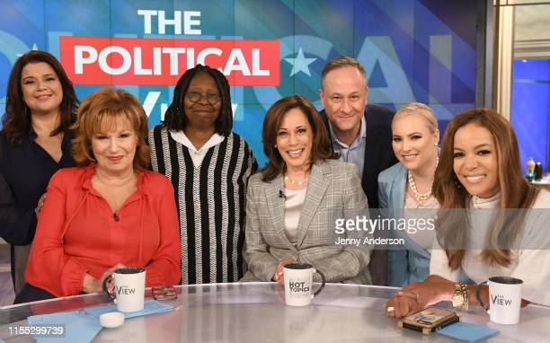 "Kamala Harris appears on ABC's ""The View"" today, Friday, July 12, 2019. ""The View"" airs Monday-Friday on ABC. WHOOPI GOLDBERG, ANA NAVARRO, JOY..."