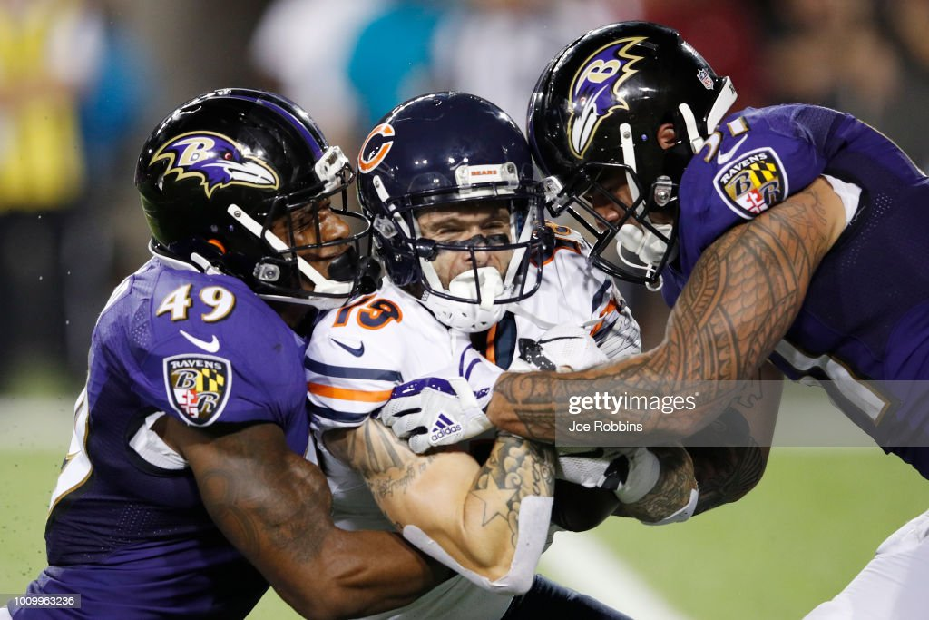 Chicago Bears v Baltimore Ravens : Nachrichtenfoto