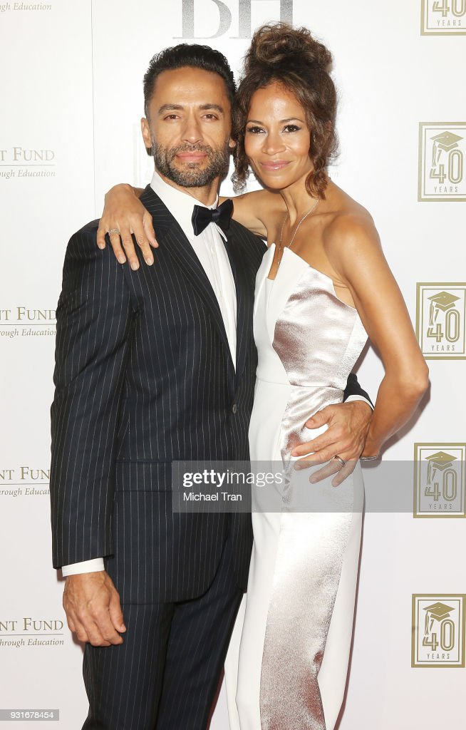 Kamar de los Reyes and Sherri Saum attend A Legacy of Changing Lives presented by The Fulfillment Fund held at The Ray Dolby Ballroom at Hollywood & Highland Center on March 13, 2018 in Hollywood, California.