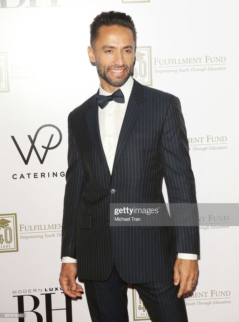 Kamar de los Reyes attends A Legacy of Changing Lives presented by The Fulfillment Fund held at The Ray Dolby Ballroom at Hollywood & Highland Center on March 13, 2018 in Hollywood, California.