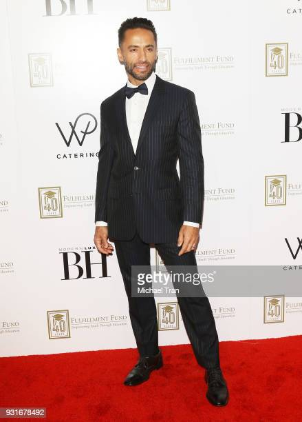 Kamar de los Reyes attends A Legacy of Changing Lives presented by The Fulfillment Fund held at The Ray Dolby Ballroom at Hollywood Highland Center...