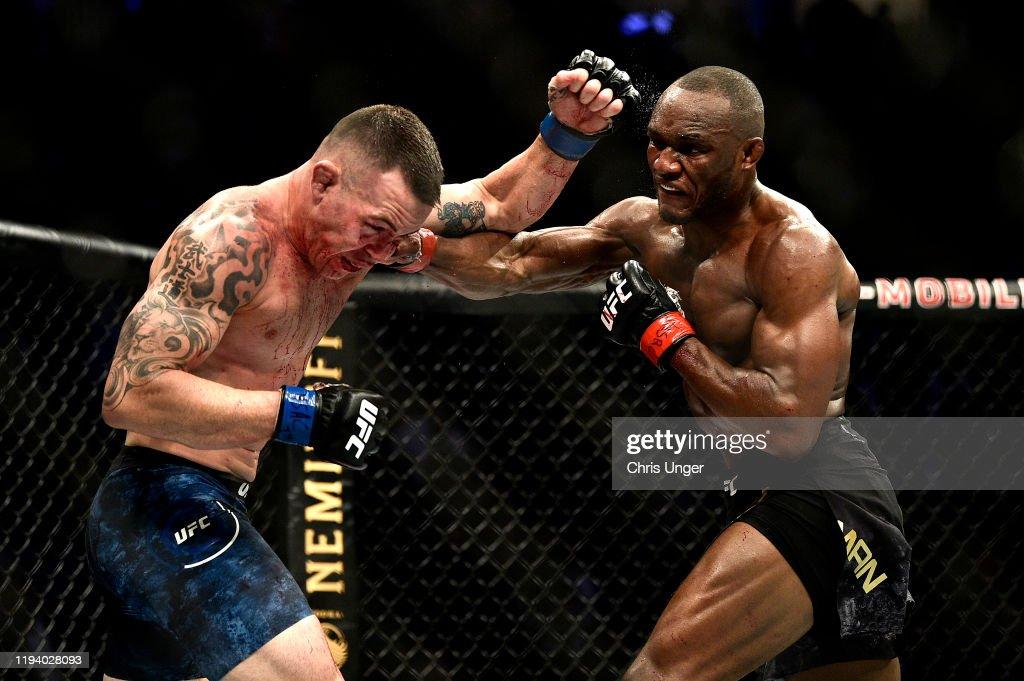 UFC 245: Usman v Covington : News Photo