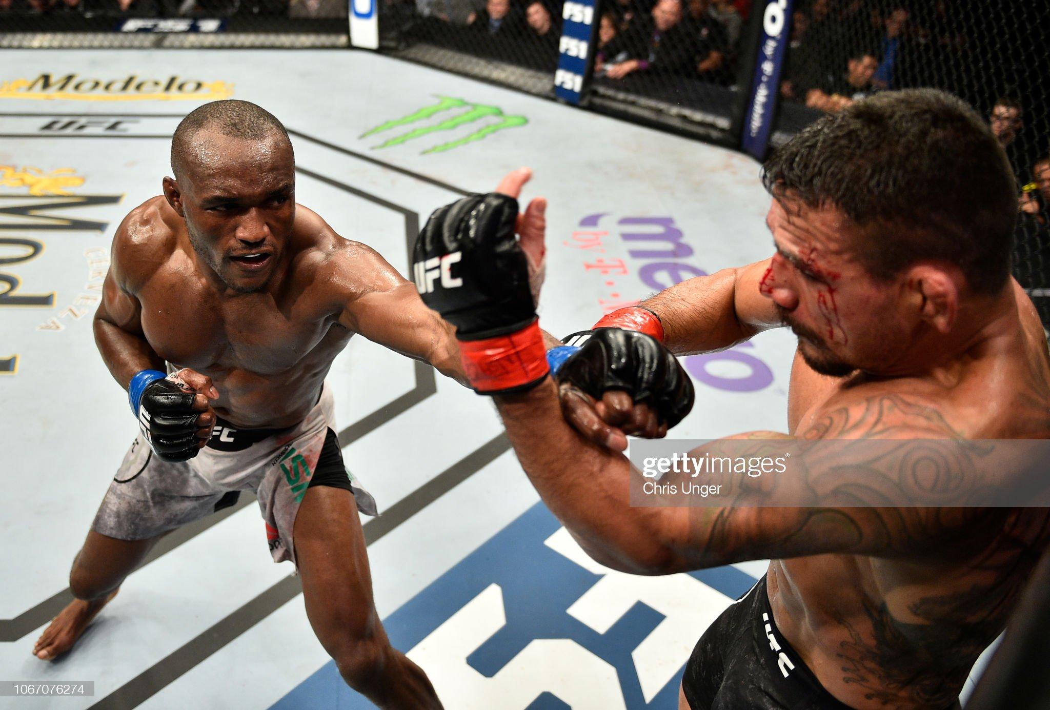 The Ultimate Fighter Finale: Dos Anjos v Usman : News Photo