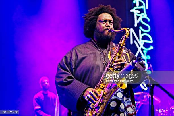 Kamasi Washington Performs at 'So What's Next' Festival on November 4 2017 in Eindhoven Netherlands Photo by Peter Van Breukelen/Redferns