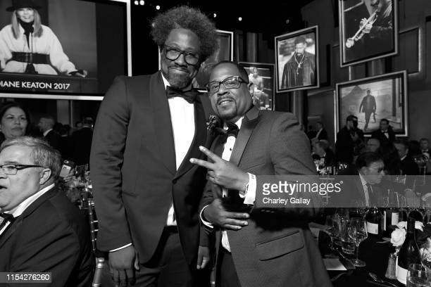 W Kamau Bell and Martin Lawrence attend the 47th AFI Life Achievement Award honoring Denzel Washington at Dolby Theatre on June 06 2019 in Hollywood...