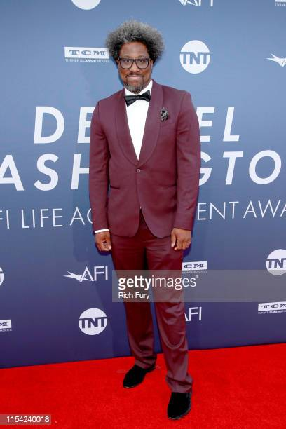 W Kamau Bell attends the 47th AFI Life Achievement Award honoring Denzel Washington at Dolby Theatre on June 06 2019 in Hollywood California