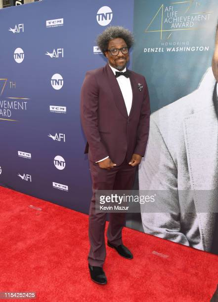 W Kamau Bell attends the 47th AFI Life Achievement Award Honoring Denzel Washington at Dolby Theatre on June 06 2019 in Hollywood California 610461