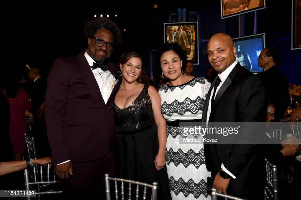 W Kamau Bell Melissa Bell and guests attend the 47th AFI Life Achievement Award honoring Denzel Washington at Dolby Theatre on June 06 2019 in...