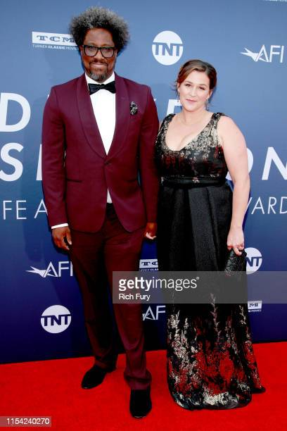 W Kamau Bell Melissa Bell attend the 47th AFI Life Achievement Award honoring Denzel Washington at Dolby Theatre on June 06 2019 in Hollywood...