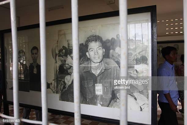 KHM Kambodscha Phnon Penh das TuolSlengMuseum Es dient der Erinnerung an die Verbrechen im ehemaligen Konzentrationslager Sicherheitsgefaengnis 21...