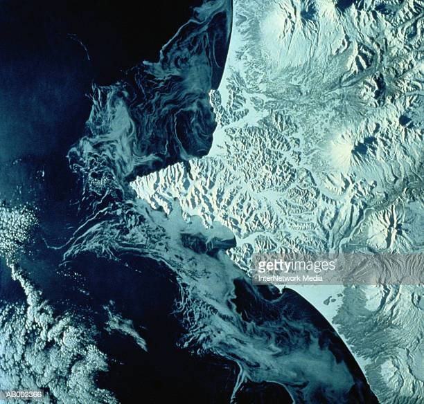 Kamchatka Peninsula from Space