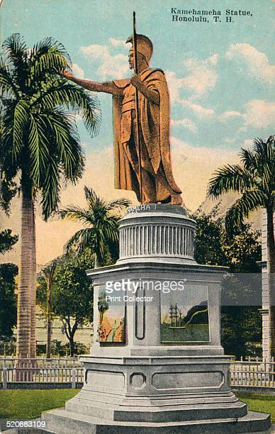 Kamehameha I also known as Kamehameha the Great conquered the Hawaiian Islands formally establishing the Kingdom of Hawaii in 1810 The statue stands...