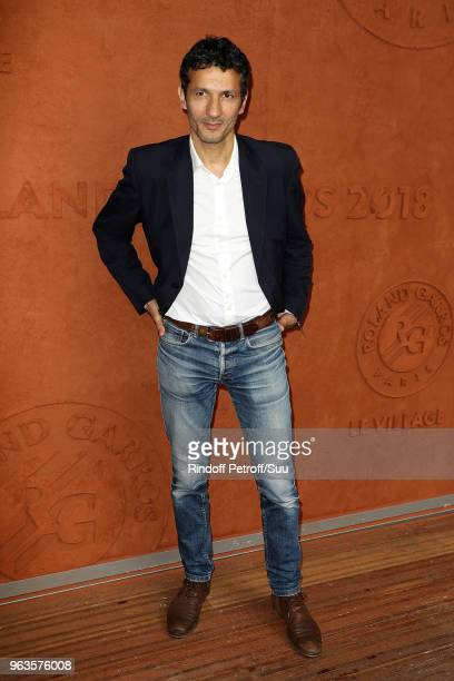 Kamel Belghazi attend the 2018 French Open Day Three at Roland Garros on May 29 2018 in Paris France