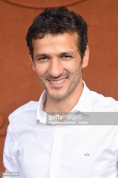 Kamel Belghazi attends the 2018 French Open Day three at Roland Garros on May 29 2018 in Paris France
