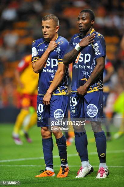 Kamel GHILAS / Franck DJA DJEDJE Lens / Arles Avignon 37eme journee de Ligue 1 Photo Dave Winter / Icon Sport