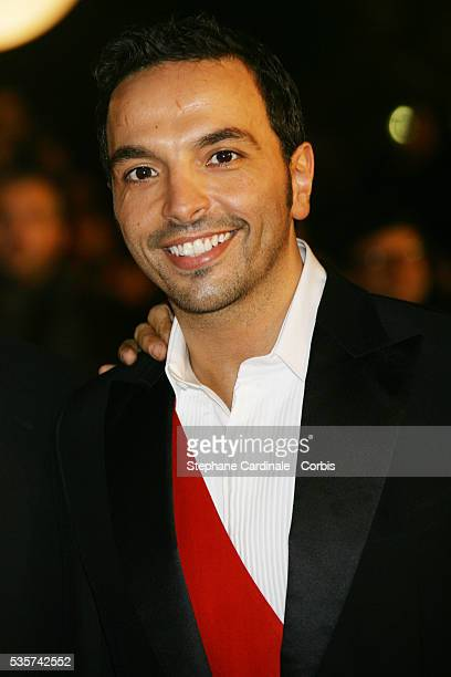 Kamel Ouali arrives at the 2007 NRJ Music Awards held in Cannes