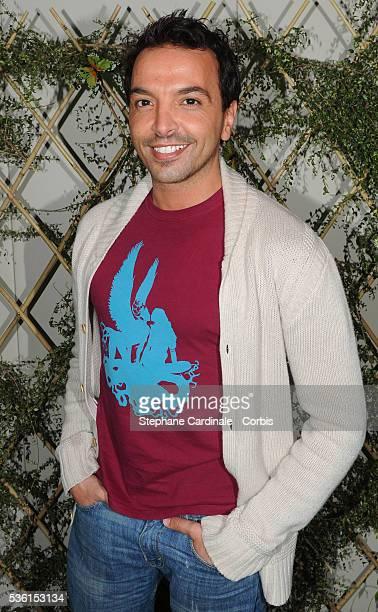 Kamel Ouali attends the Escada Garden Party in Paris