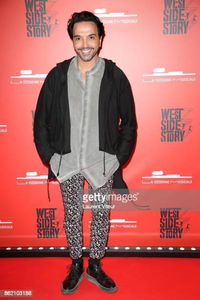 Kamel Ouali attends 'West Side Story' at La Seine Musicale on October 16 2017 in BoulogneBillancourt France