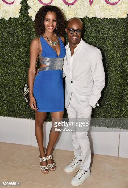 Kamela ForbesMatheson and Merv Matheson attend the weekend opening of The NEW ultraluxury Cove Resort at Atlantis Paradise Island on November 4 2017...