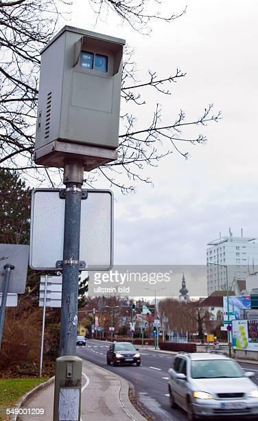 Kameraüberwachung der Ampelanlage