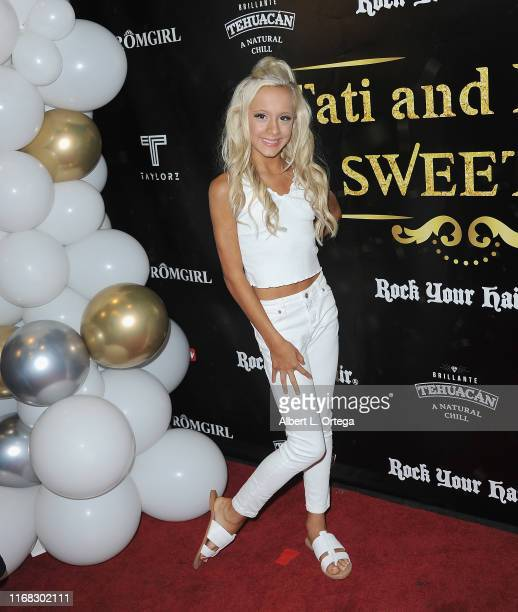 Kameron Couch arrives for Lily Chee And Tati McQuay Celebrate Their 16th Birthday held at The Venue of Hollywood on September 14, 2019 in Hollywood,...
