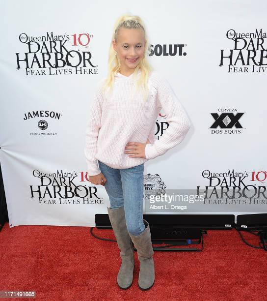Kameron Couch attends Queen Mary's 10th Annual Dark Harbor Media And VIP Night held at The Queen Mary on September 26, 2019 in Long Beach, California.