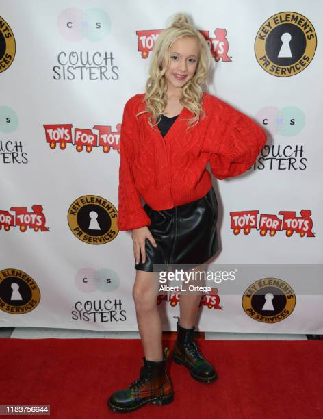 Kameron Couch attends The Couch Sisters 1st Annual Toys For Tots Toy Drive held onNovember 20 2019 in Glendale California