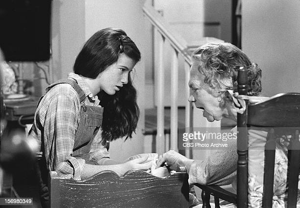 Kami Cotler as Elizabeth Walton left and Ellen Corby as Esther Walton on The Calling Image dated June 9 Image dated June 9 1978