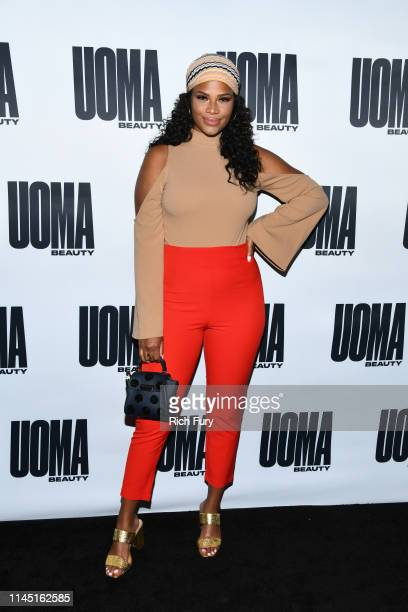 """Kamie Crawford at House Of Uoma Presents The Launch Of Uoma Beauty - The World's First """"Afropolitan"""" Makeup Brand at NeueHouse Hollywood on April 25,..."""
