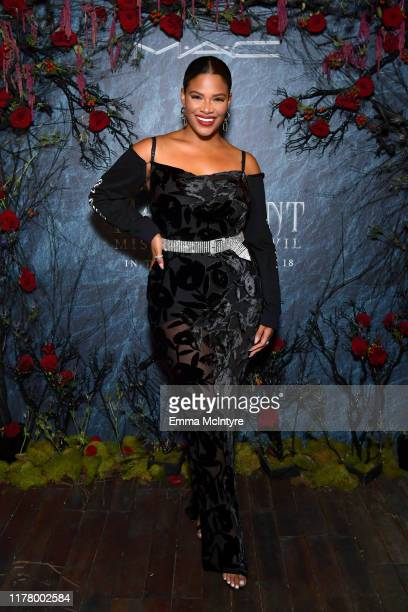 Kamie Crawford attends Disney's Maleficent by MAC Cosmetics at Petit Ermitage on September 29, 2019 in Hollywood, California.