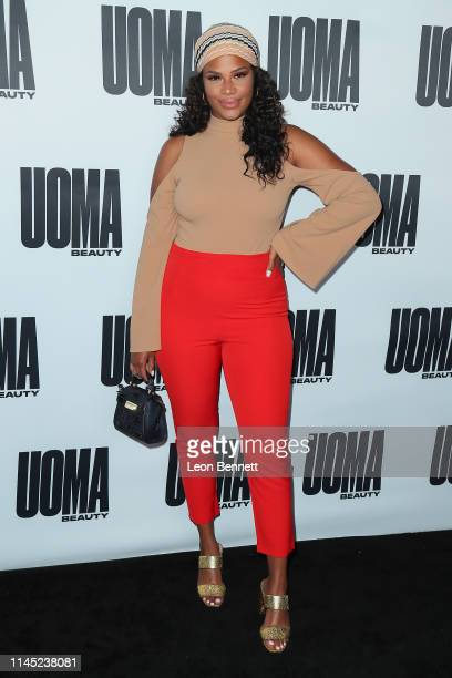 """Kamie Crawford attends House Of Uoma Presents The Launch Of Uoma Beauty - The World's First """"Afropolitan"""" Makeup Brand at NeueHouse Hollywood on..."""