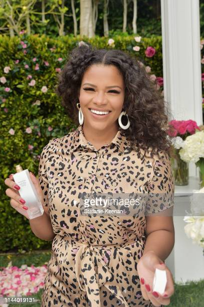 Kamie Crawford attends Reese Witherspoon hosts the Elizabeth Arden Garden Party at Private Residence on May 15, 2019 in Beverly Hills, California.
