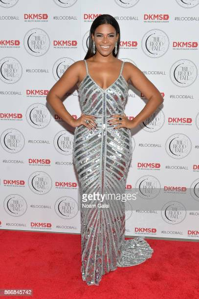 Kamie Crawford attends the 2017 DKMS Blood Ball at Spring Place on October 26, 2017 in New York City.