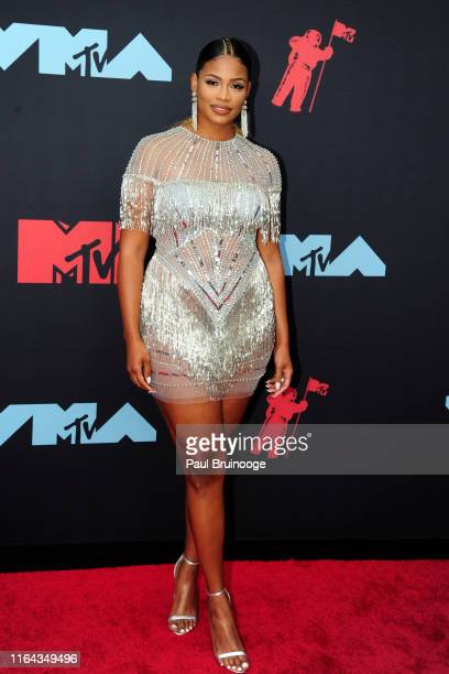 Kamie Crawford attends the 2019 MTV Video Music Awards at Prudential Center on August 26, 2019 in Newark, New Jersey