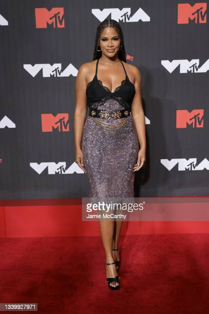 Kamie Crawford attends the 2021 MTV Video Music Awards at Barclays Center on September 12, 2021 in the Brooklyn borough of New York City.