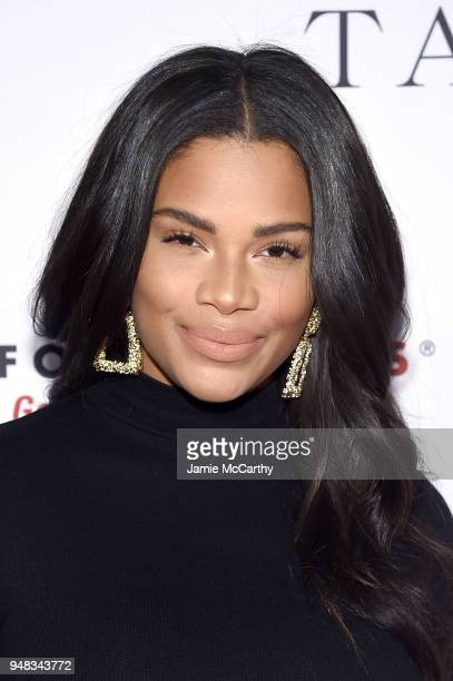 Kamie Crawford attends the Dress for Success Be Bold Gala at Cipriani Wall Street on April 18, 2018 in New York City.