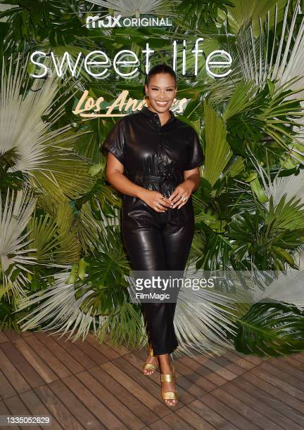 Kamie Crawford attends the HBO Max - Sweet Life: Los Angeles screening at NeueHouse Los Angeles on August 18, 2021 in Hollywood, California.