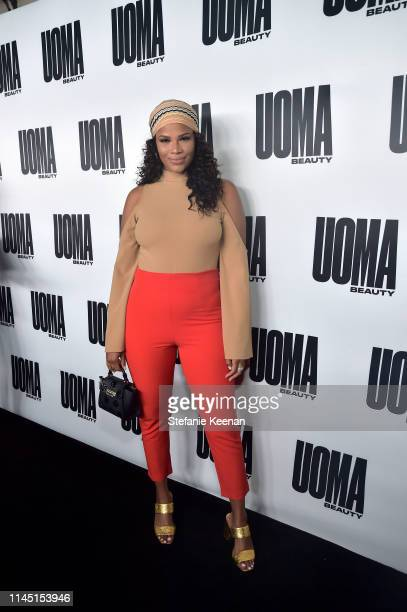 Kamie Crawford attends UOMA Beauty Launch Event at NeueHouse Hollywood on April 25 2019 in Los Angeles California